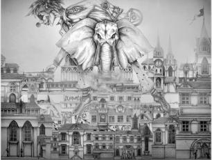 Rysunek - Hektor Werios